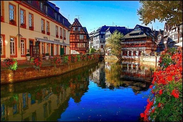 Франция: Страсбург. Март-апрель