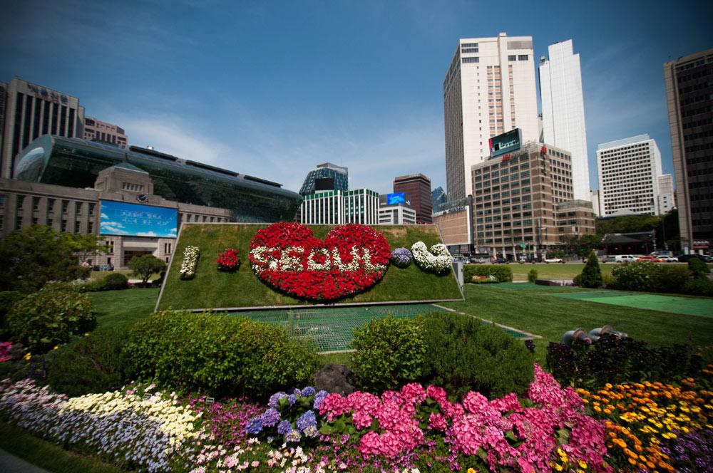 Южная Корея: Сеул.