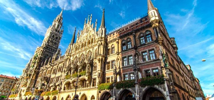 Германия: Мюнхен. Август.
