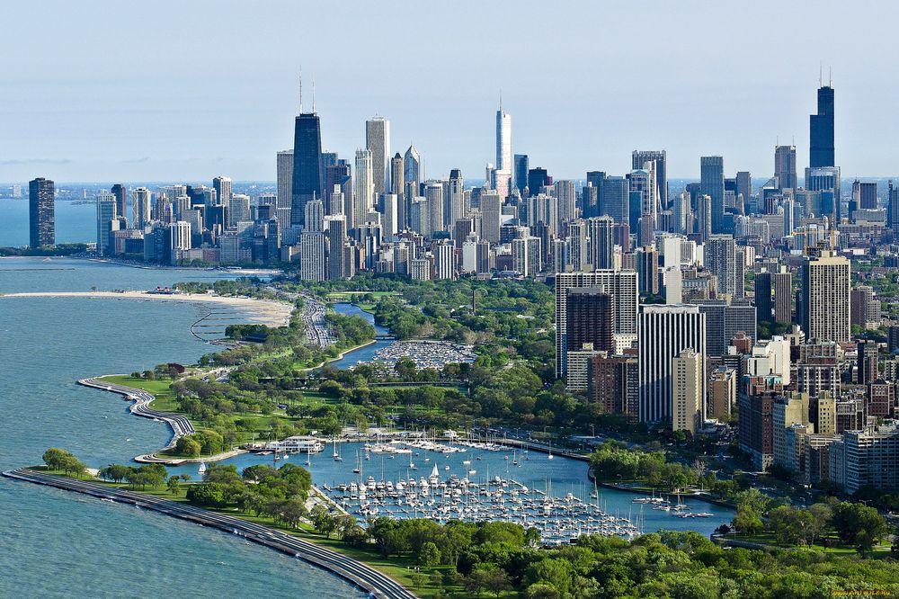 США: Чикаго. Июль.